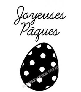 Oeuf Joyeuses Pâques