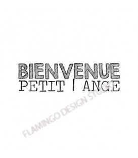 Rubber stamp - Gwen Scrap Collection 2- Bienvenue petit ange