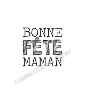 Rubber stamp - Gwen Scrap Collection 2- Bonne fête maman