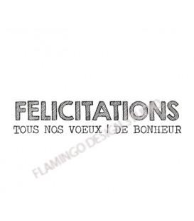 Gwen Scrap collection 2 - Félicitations Tous nos voeux de Bonheur