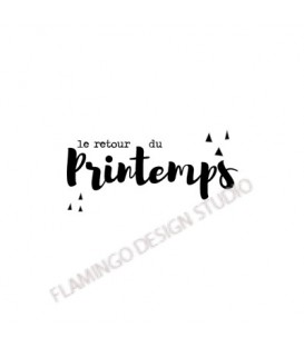 Rubber stamp - Gwen Scrap Collection 2- le retour du Printemps