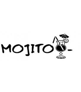 Rubber stamp - Mojito