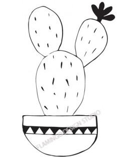 Rubber stamp - Cactus