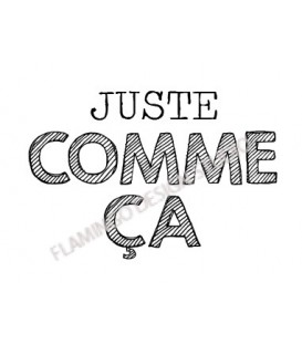 Rubber stamp - Gwen Scrap Collection 3 -  Juste comme ça