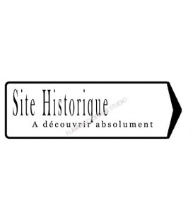 Rubber stamp - Scrapanescence 3 - Site Historique