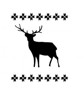 Rubber stamp - Scandinavian Style Deer