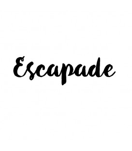 Rubber stamp - Escapade