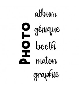 Photo album génique booth maton graphie