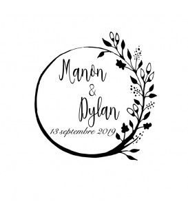 Tampon Mariage - 2017 F
