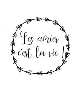 Couronne Les Amies c'est la vie