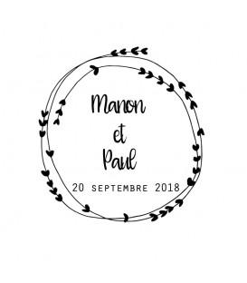 Tampon Mariage - 2017 N